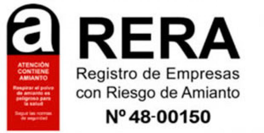Rera Empresa Certificada Riesgo Amianto